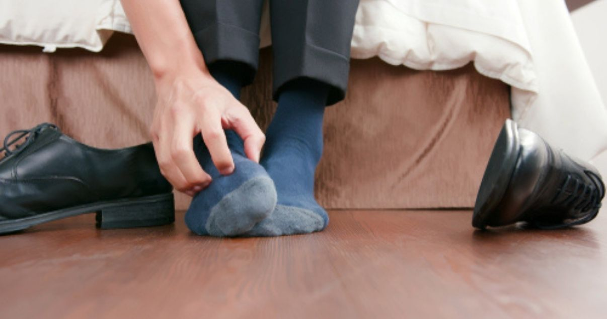 Using clean socks is a great way to stop athletes foot smell