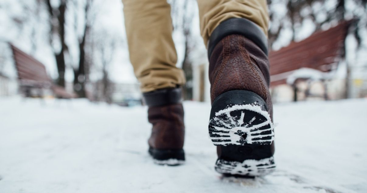 drying your shoes after walking in the snow is a great method for athlete's foot prevention